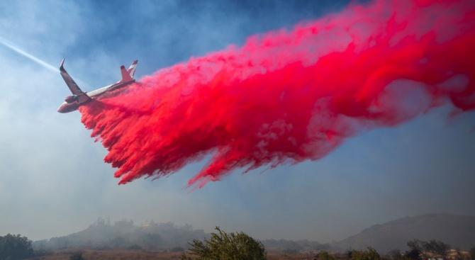 "Нов пожар, кръстен ""Мария"", избухна в Южна Калифорния"