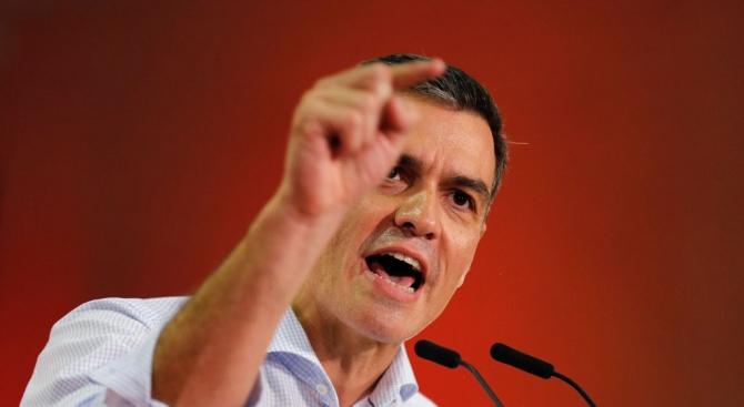 И.д. министър-председател на Испания Педро Санчес изключи днес възможността за