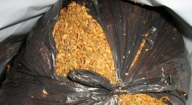 Голямо количество контрабанден тютюн иззеха служители на ОД на МВР-Пловдив