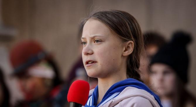 Испания предложи да помогне на Грета Тунберг да се придвижи от САЩ за климатичната конференция на ООН в Мадрид