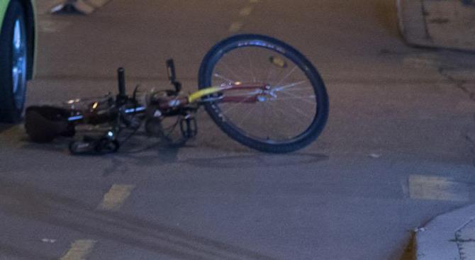 Кола уби велосипедист на пътя Велико Търново - Русе