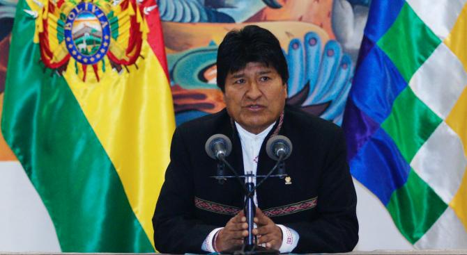 Нов протест срещу преизбирането на Ево Моралес за президент на Боливия