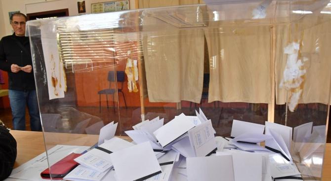 Избирателната активност към 12.30 часа е 18,26%