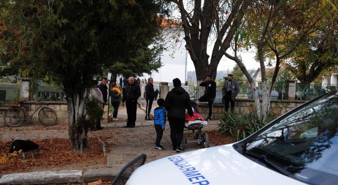 Жандармерия охранява балотажа в Галиче