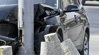 19-годишен пиян шофьор катастрофира в Севлиево
