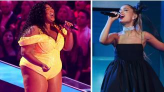 Лизо и Ариана Гранде възпяха силата и независимостта на жената в нова песен