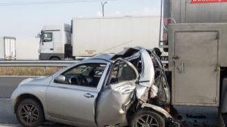 Катастрофа на пътя София - Варна в местността Боаза: Има ранени