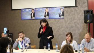 Кандидатът на ГЕРБ за кмет на Русе инж. Диана Иванова: В неделя ще решим дали искаме да дръпнем ръчната спирачка на Русе или да продължим с по-висока скорост напред