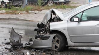 Жена пострада при катастрофа на пътя Велико Търново - Арбанаси