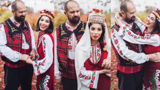 МЕГЗ и Рончев облякоха народни носии
