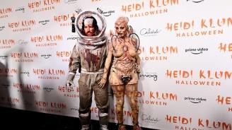 Хайди Клум шокира с костюма си за Хелоуин