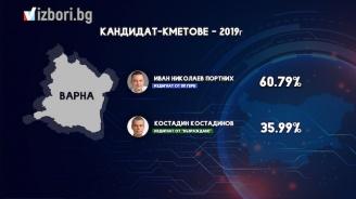Портних печели безапелационно във Варна