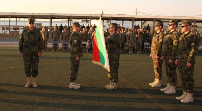 Военнослужещите от 39-ия български контингент встъпиха в изпълнение на своите