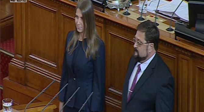 Заклеха се двама нови депутати