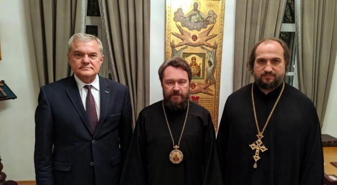 Председателят на ПП АБВ Румен Петков се срещна в Москва