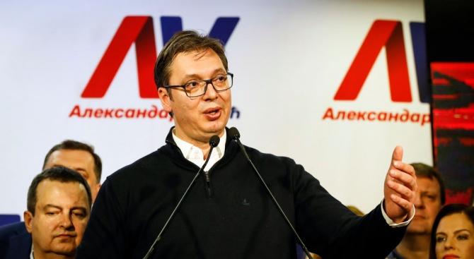 Вучич: Сърбия се въоръжава, но няма намерение да напада никого