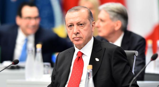 Ердоган: СЗН не са напуснали напълно зоната за сигурност в Северна Сирия