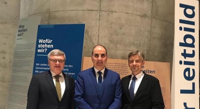 По време на посещението си в Берлин председателят на Управителния