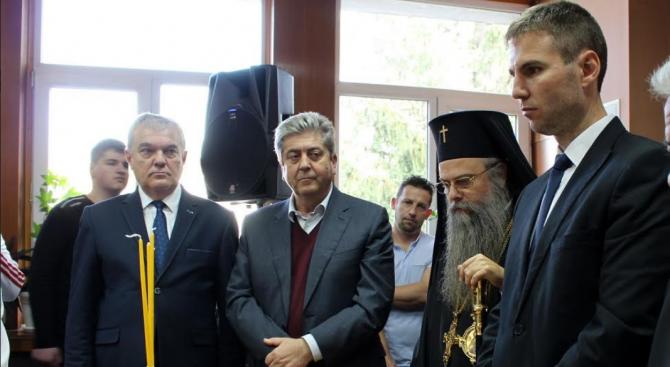 Избраният кмет на община Батак Петър Паунов встъпи в длъжност