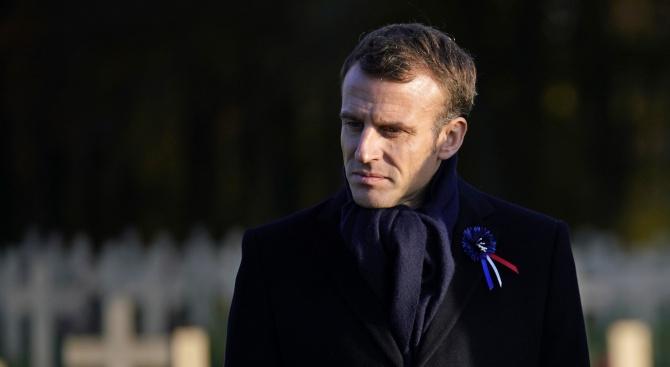 Еманюел Макрон: НАТО е в мозъчна смърт