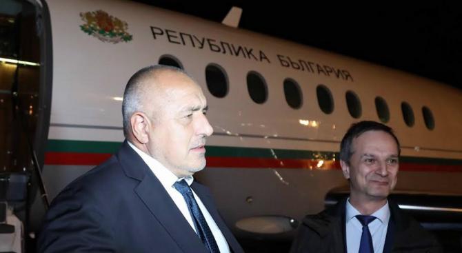 Бойко Борисов пристигна в Женева