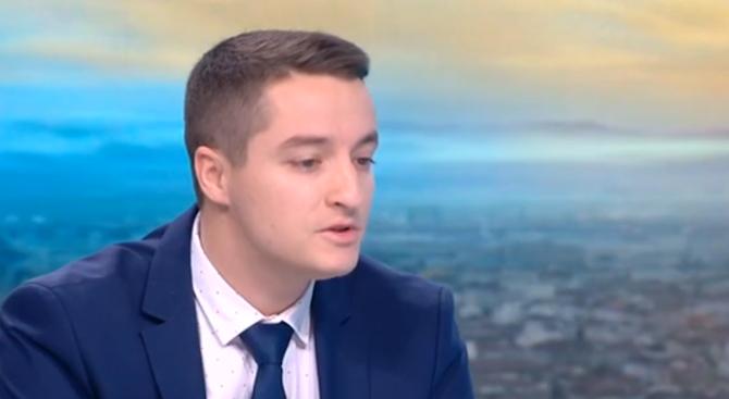Депутатът от БСП Явор Божанков и кандидат за кмет на