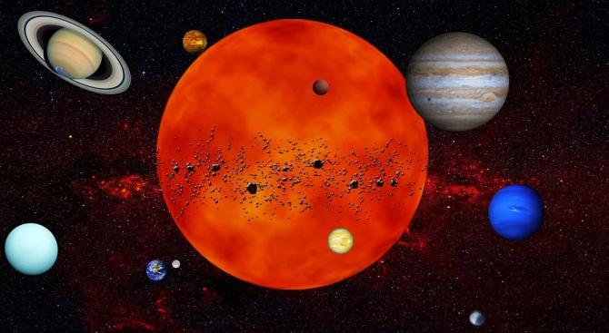 Планетата Меркурий ще устрои рядко небесно шоу следващата седмица, като