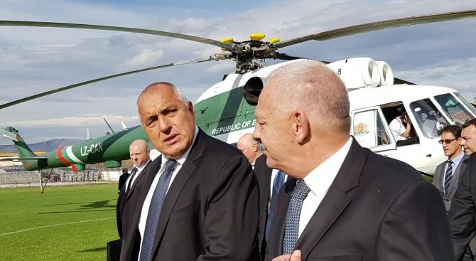 Премиерът Бойко Борисов пристигна в Сърбия