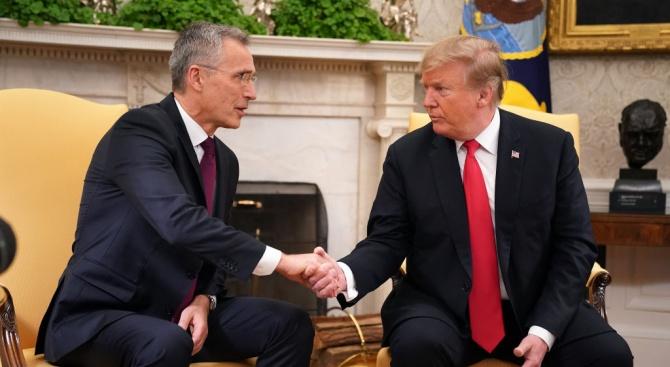 Доналд Тръмп ще се срещне с генералния секретар на НАТО