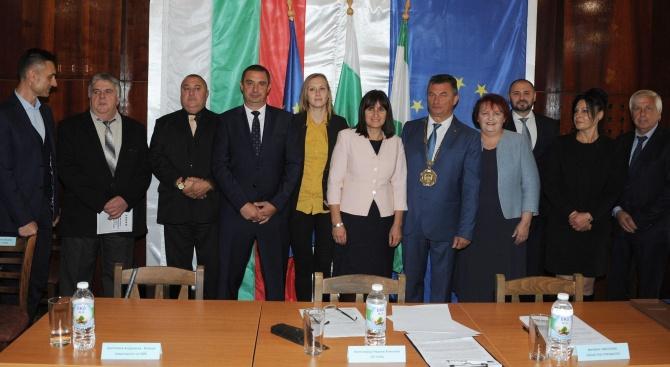 На специална церемония кметовете на Бяла Слатина и населените места