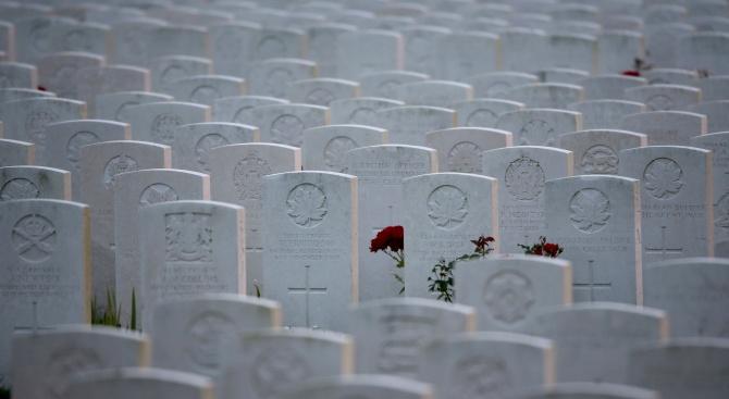 Ежегодната церемония в памет на загиналите във войните се състоя