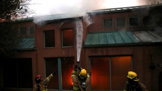 Пожар в социален дом в Димитровград