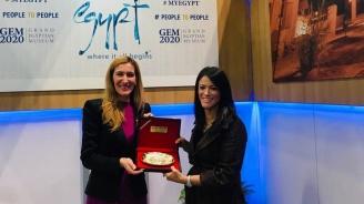 Министър Ангелкова проведе работна среща в Лондон с министъра на туризма на Египет д-р Рания Ал-Машат