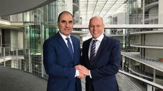 Цветан Цветанов се срещна с координатор по трансатлантическите въпроси от ХДС/ХСС