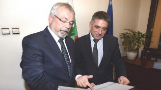 Данаил Кирилов се срещна с главния прокурор на Нюрнберг Лотар Шмит
