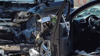 Катастрофа между две хасковски села: Има ранени