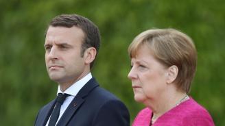 Меркел не споделя радикалното мнението на Макрон, че НАТО е в мозъчна смърт