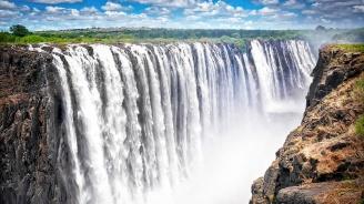 Водопадът Виктория пресъхва, слоновете умират