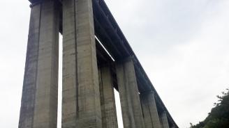 """Завърши ремонтът на виадуктите при 17-ти и 18-ти км на АМ """"Тракия"""" в посока Бургас"""