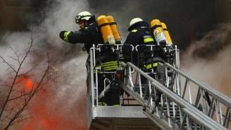 Погасен е пожар, възникнал в столичен хостел