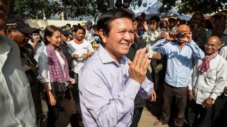 Камбоджански опозиционен лидер беше освободен от домашен арест