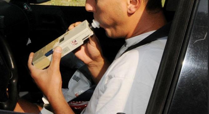 42-годишен мъж е задържан в Бургас за шофиране с 3.38