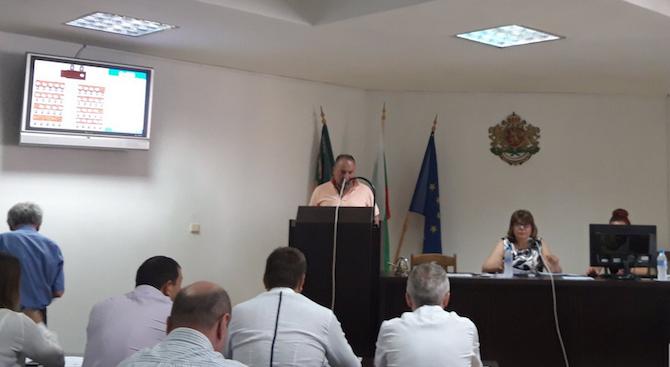 Първото заседание на новоизбрания Общински съвет се състоя днес в