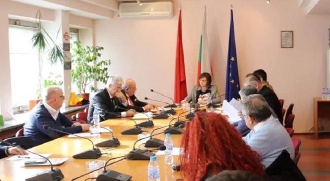 """Политическият съвет на коалиция """"БСП за България"""" проведе заседание, на"""