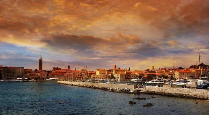В хърватската област Далмация по крайбрежието на Адриатическо море е
