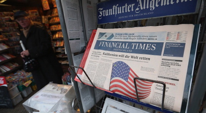 """За първи път жена застава начело на редакцията на в. """"Файненшъл таймс"""""""