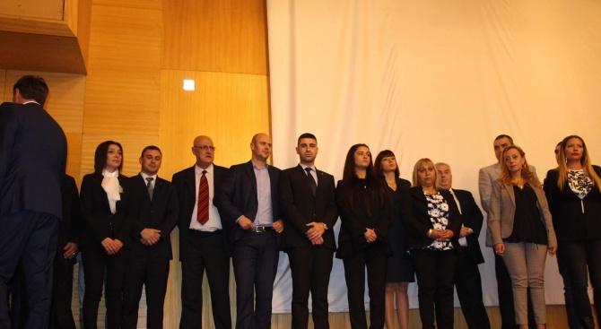 Новоизбраните общински съветници и кметове на кметства от ПП ГЕРБ