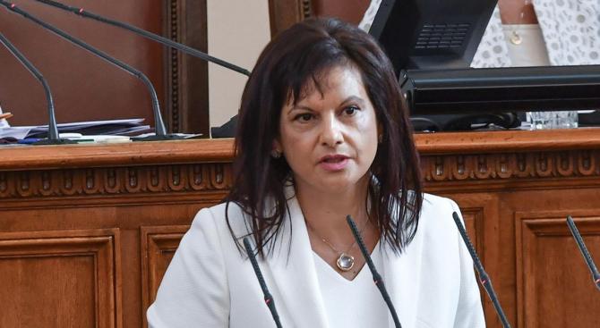 """Не сме правили обсъждане по темата """"бъдещ председател на КПКОНПИ""""."""