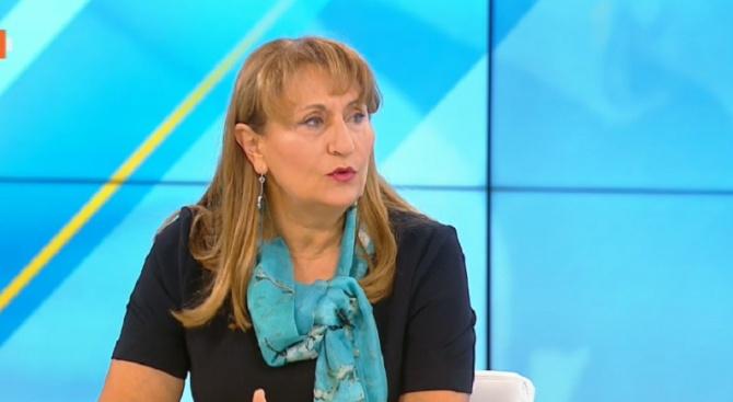 Бившият социален министър Лидия Шулева направи своята прогноза за размера