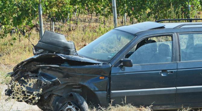 Двама са леко ранени при пътен инцидент вчера на бул.